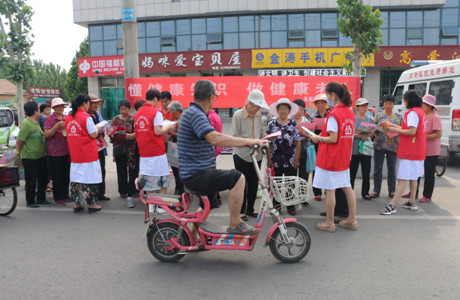 山东省邹平市高新街道社区卫生服务中心:懂健康知识  做健康老人